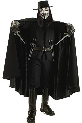 Rubbies - Disfraz de V de Vendetta para hombre, talla XL (56198STD)