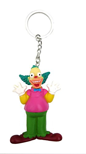 Fox The Simpsons Payaso 3D Llavero de PVC