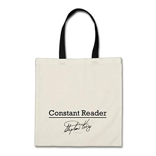 Stephen King Constant Reader Bolsa