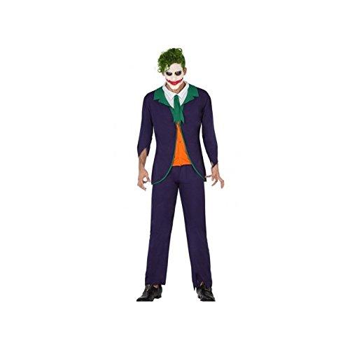 Atosa-57679 Disfraz Payaso para Hombre Adulto, Color Verde, XL (57679)