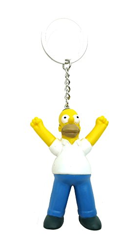 Fox Llavero de PVC 3D de The Simpsons Homer
