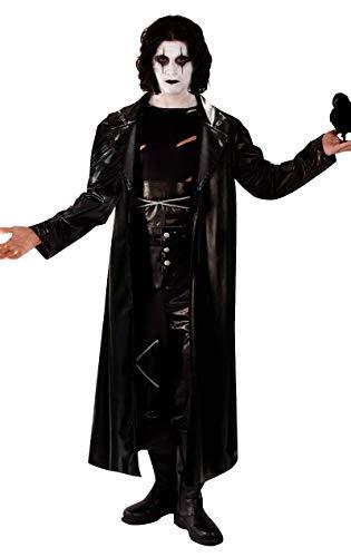 Disfraz de El Cuervo Vengador Gótico de Rock para Halloween de Película para Hombres
