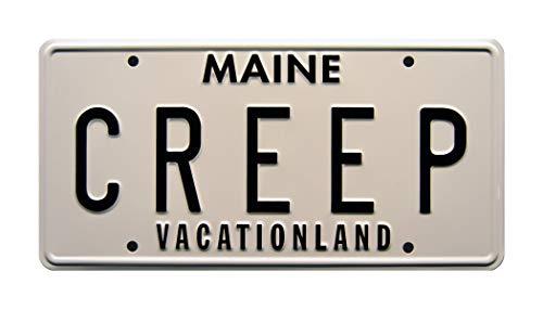 Celebrity Machines Creepshow 2 | Creep | Metal Stamped License Plate