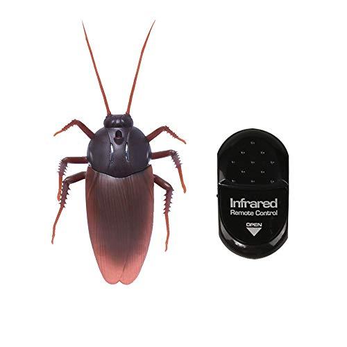 Cucaracha de Control Remoto, Cucaracha Animal de Alta Simulación Control Remoto por Infrarrojos...