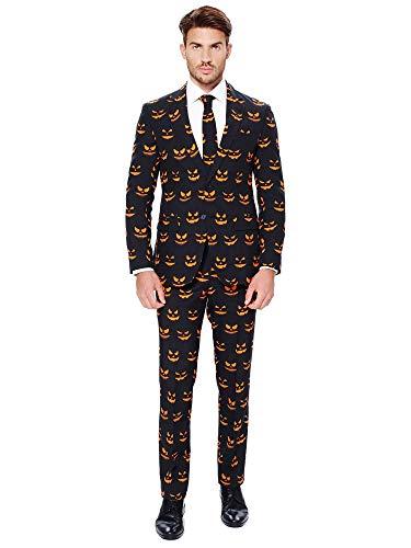 OppoSuits Disfraz de Halloween con Estampado Elegante para Hombre - Con Chaqueta, Pantalón y...