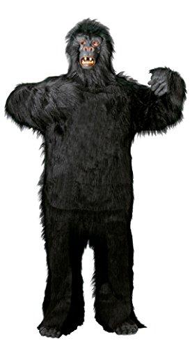 Foxxeo Premium Gorila Disfraz de Hombre Animal Adulto para el Carnaval de Halloween, tamaño: M