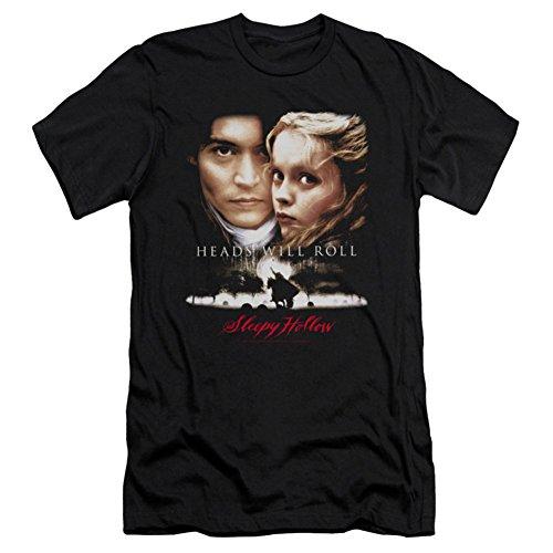 Sleepy Hollow - Jefes de los hombres Will Roll T-Shirt En Negro, Large, Black