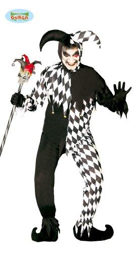 Guirca - The Joker 80688 - Disfraz de Junior de Color Blanco y Negro, Talla única