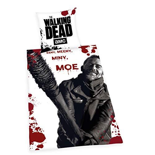 Herding The Walking Dead - Juego de Ropa de Cama (Funda nórdica de 135 x 200 cm, Cierre de...