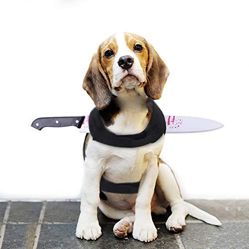 Ochenta disfraces de Halloween para perros, disfraces de Halloween para mascotas, espalda de pecho...