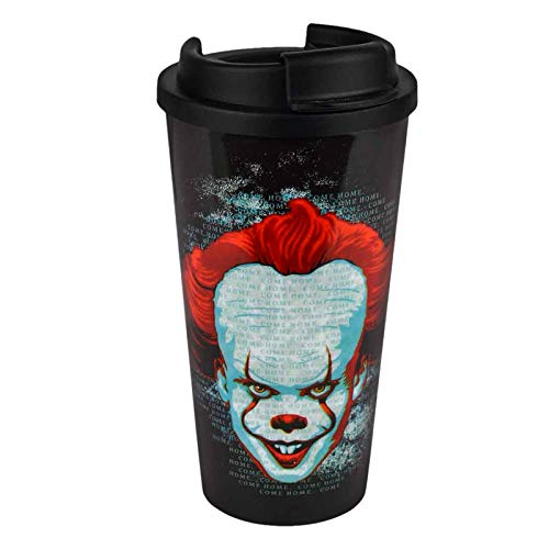 Stephen Kings ES To Go Thermo Mug Pennywise 450ml plástico Negro