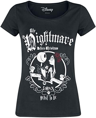 The Nightmare Before Christmas Pesadilla Antes De Navidad Jack Skellington & Sally - Simply Meant To...
