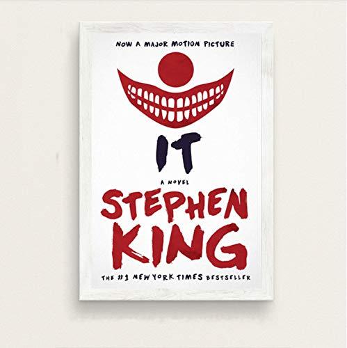brandless It Movie Stephen King Horror Movie Star Movie Posters E Impresiones Art Canvas Painting...
