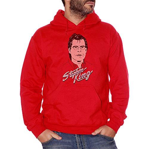 Sweatshirt Stephen King - Famoso Choose ur Color - Niño-S-Rojo