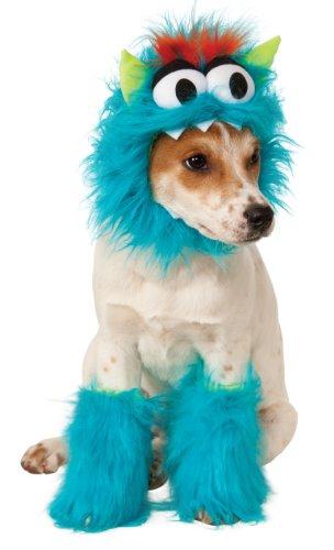 Disfraz para mascota - Monstruo de las galletas azul, perro talla L