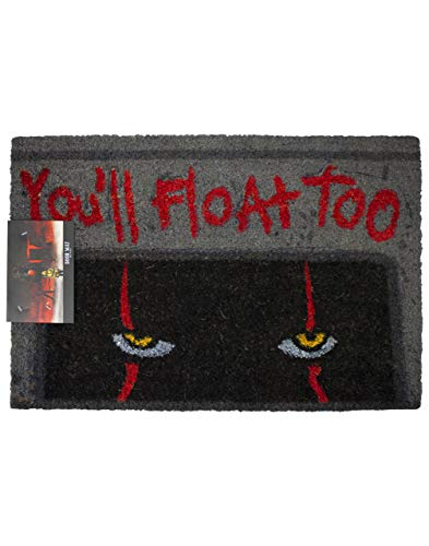 Vanilla Underground Stephen King TI Pennywise el Payaso Usted Flotaremos también Felpudo