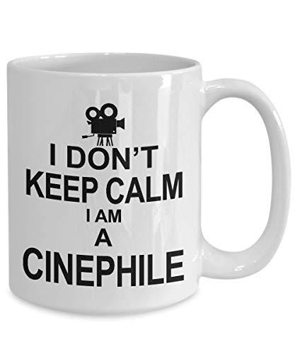 Taza de café cinéfilo, regalo de película Buff regalos de película Freak, taza de cinéfilo,...
