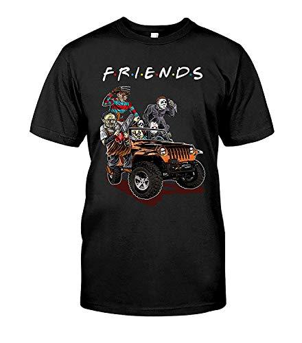 AKDesigns Store Halloween Horror Squad Friends Freddy Krueger T Shirt Shirt