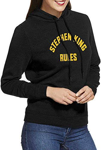 Stephen King Rules Hooded Pullover Sweatshirts for Women