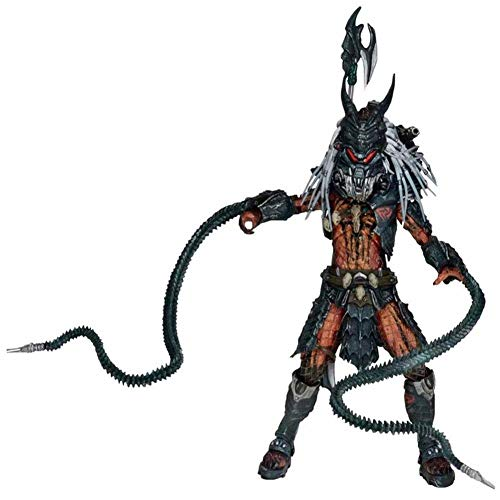 HUANIU Modelo de Juguete de Predator Estatua Película De Terror Animado Modelo De Juguete Modelo De...