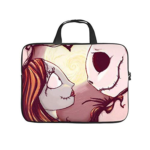 Jack and Sally Nightmare Before Christmas (38) - Funda protectora para ordenador portátil con...