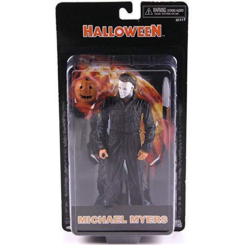 Halloween Michael Myers Pvc Michael Myers Neca Película de terror Figuras de acción Modelo de...