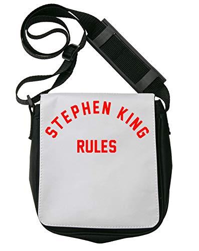 Stephen King Rules Bolso Bandolera Riñonera De Hombro Unisex Shoulder Bag