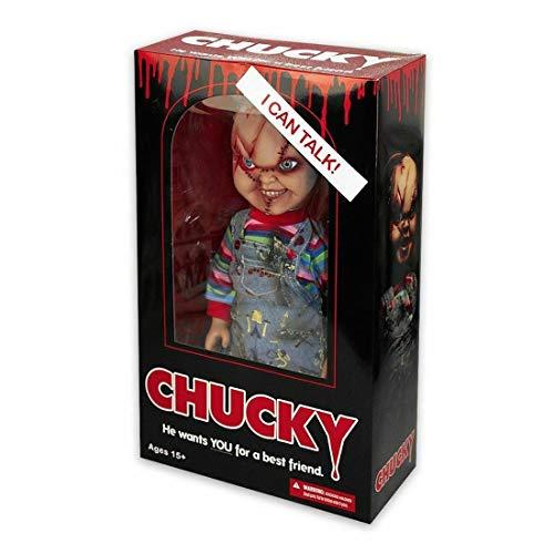 Muñeco Parlante 'Child's Play Chucky/Muñeco Diabólico' Gran Escala de 15'