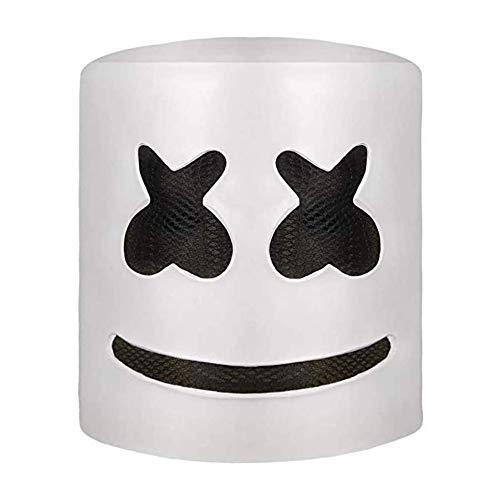 Máscara de DJ Luz LED Disfraz de Halloween Máscara Festival de música Bar Singer Cosplay...