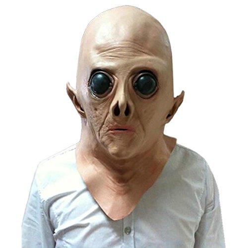 DaoRier 1pc Free Size Sangriento máscara de Cabeza para Halloween Terror máscara de Cabeza para...