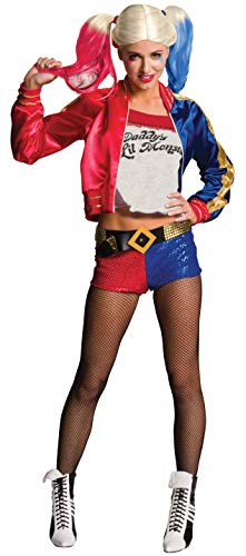Rubie's Official Harley Quinn Suicide Squad para mujer, Talla M (10-14)