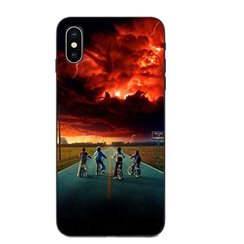 LNLYY Stranger Things Redmi 7A Funda Carcasa Case Cover Stranger Things para Xiaomi Redmi 7A (Series...