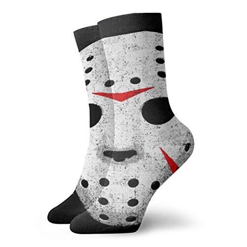 Jhonangel Calcetines casuales unisex con estampado de calavera de terror Los mejores calcetines de...