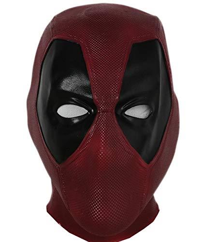 Halloween Mask Latex Head Face Helmet Movie DP Cosplay Costume Replica for Adult Men Fancy Dress...