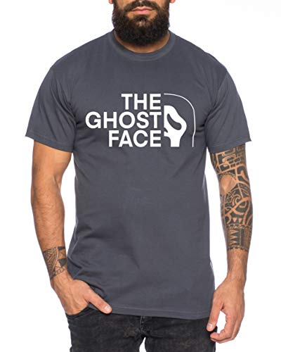 Ghost Face - Camiseta de Hombre Halloween Michael Horror Myers Pennywise Man 13 Jason Voorhees...