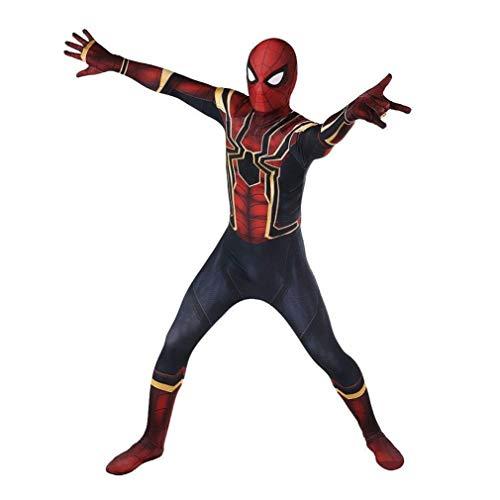 SPIDERSYBB Cosplay for Adultos Traje de Superhéroe Spiderman Niños Tight Body Suit Animado Ropa...