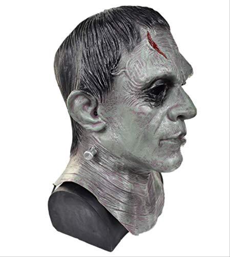 tytlmask Máscara Monstruo De Frankenstein, Máscara Terror De Látex De Halloween, para Accesorios...