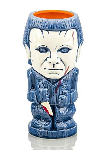 Halloween Geeki Tikis Michael Myers | Ceramic Tiki Style Mug | Holds 22 Ounces