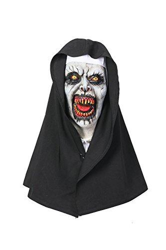 Mesky Monja Máscara de The Nun Disfraz para Halloween Mask Diablo Navidad Látex Nueva Versión