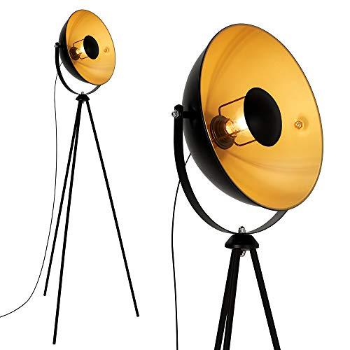 Briloner Leuchten 1380-015 Lámpara de pie Retro/Vintage, Estilo Industrial, Iluminación de Salón,...