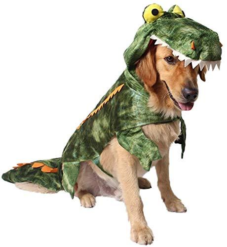 Mogokoyo Funny Dog Cocodrilo Disfraces, Pet Halloween Navidad Cosplay Vestido, Adorable Gato Ropa...