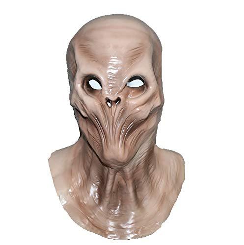Hengyutoy Mask Máscara de Halloween Horror Cubierta de la Cabeza alienígena de Halloween U Cosplay...