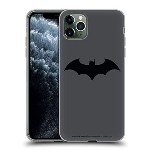 Head Case Designs Oficial Batman DC Comics Silencio Logotipos Carcasa de Gel de Silicona Compatible...
