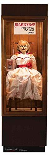 STAR CUTOUTS SC1540 Annabelle Poseído Muñeca Caso de Cristal Halloween Fiestas temáticas y Fans...