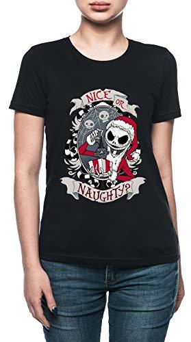 Vendax De Miedo Papá Camiseta Mujer Negro