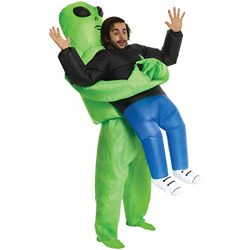 Morph Divertido Disfraz Inflable Extraterrestre Adultos - Una talla le queda a la mayoría