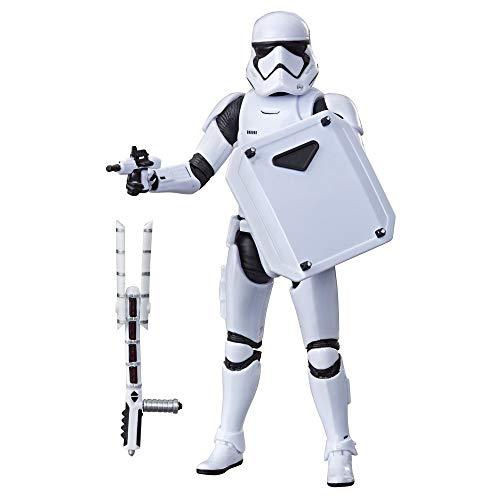 Star Wars - Figura de acción de soldado de asalto de la Primera Orden de Black Series (Hasbro...