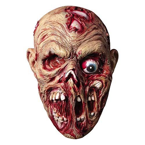 Máscara de cadáver Gritando Disfraz de Halloween Horror Calavera sangrienta Máscara de látex...