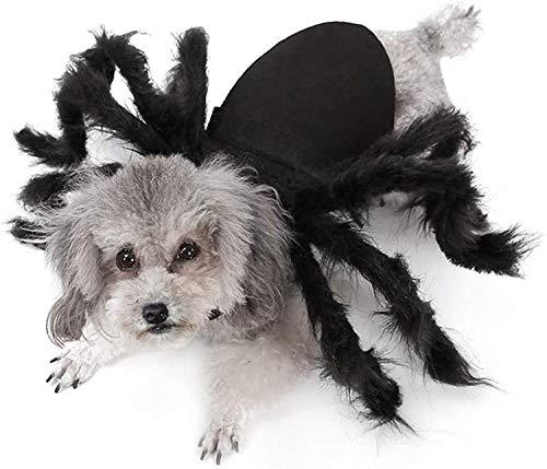 IvyH Decoración de Mascotas de Halloween, Disfraz de Perro Gato simulación de Terror Disfraz de...