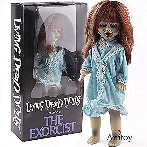 WXxiaowu MEZCO Living Dead Dolls presenta la película de terror exorcista de PVC figuras de acción...